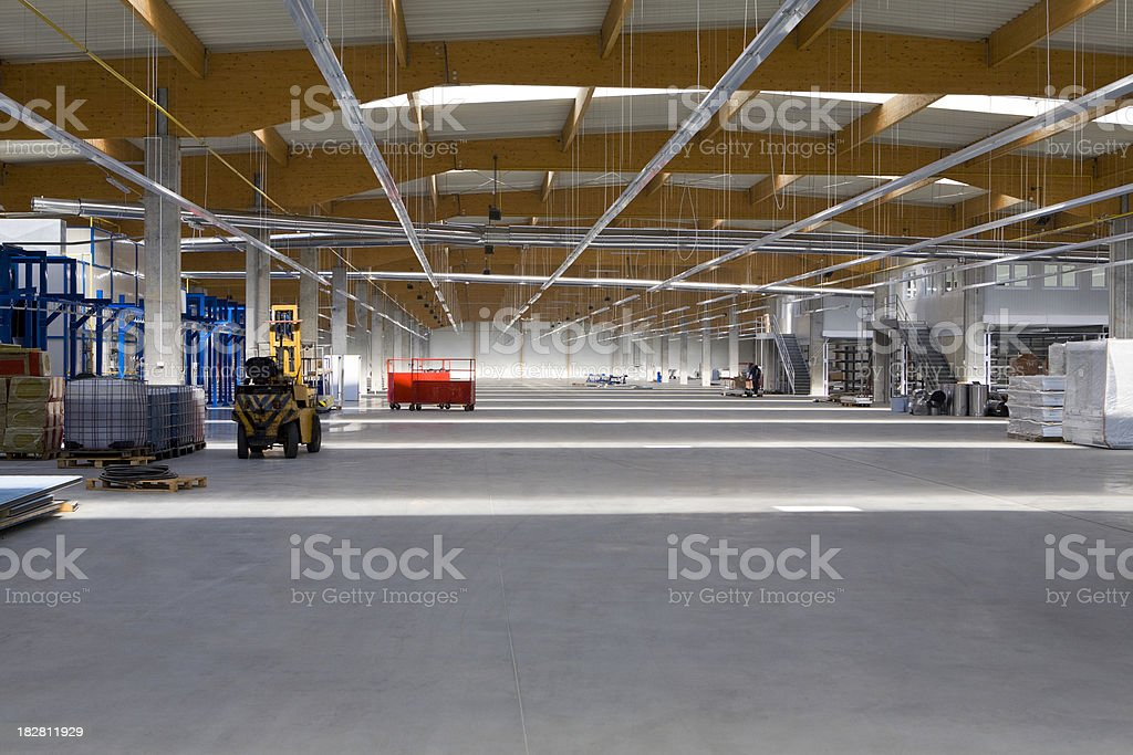 Warehouse/Factory royalty-free stock photo