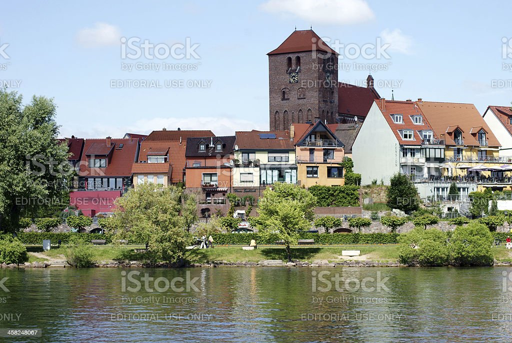 Waren at the sea  Mueritz royalty-free stock photo