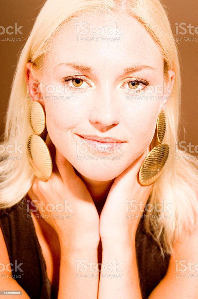 Warm Beauty royalty-free stock photo