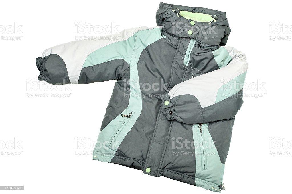 Warm coat stock photo