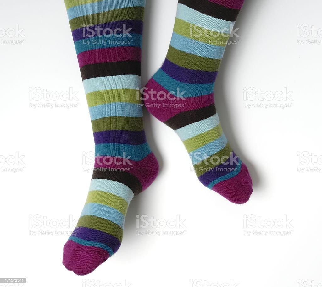 Warm Feet stock photo