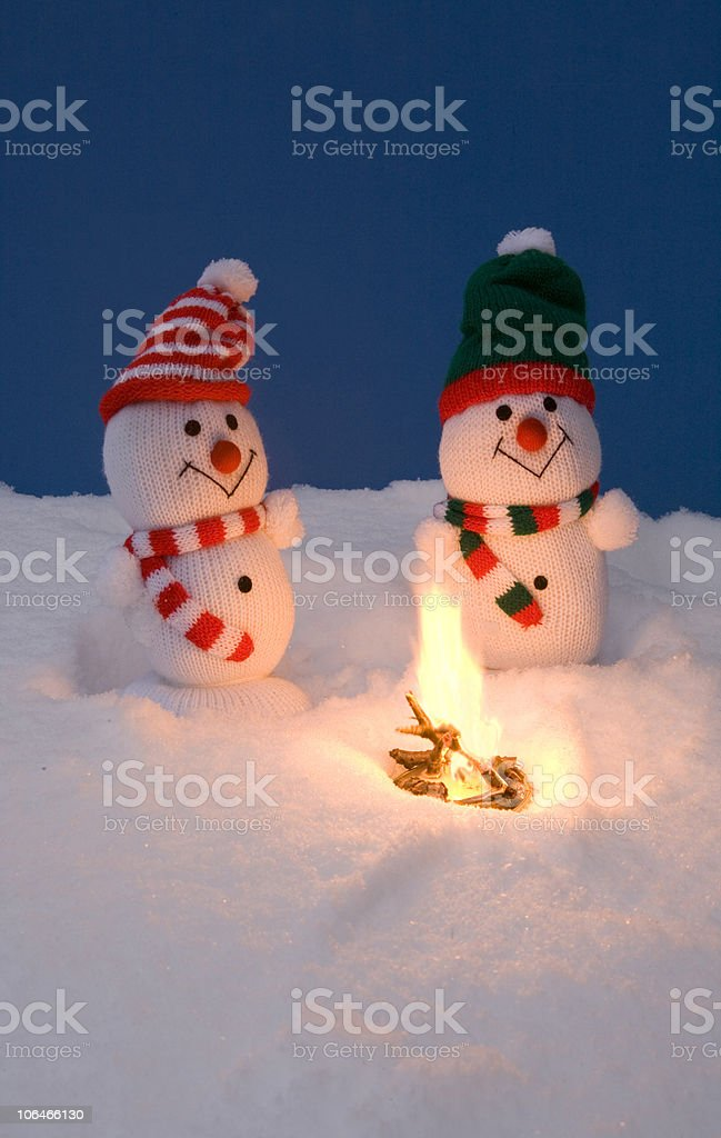 Warm Fire royalty-free stock photo