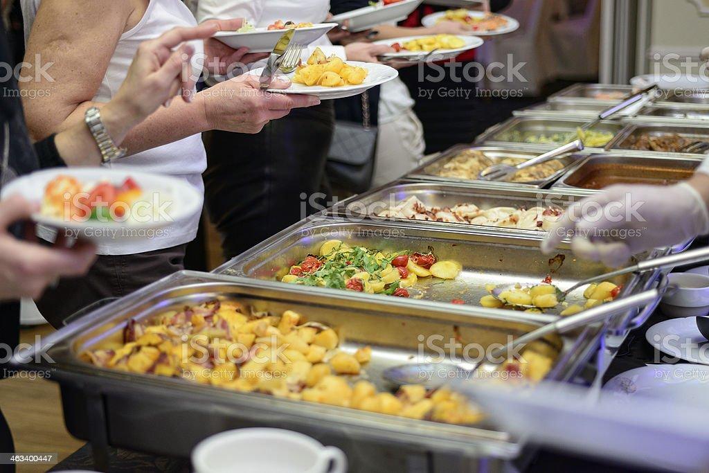Warm food stock photo