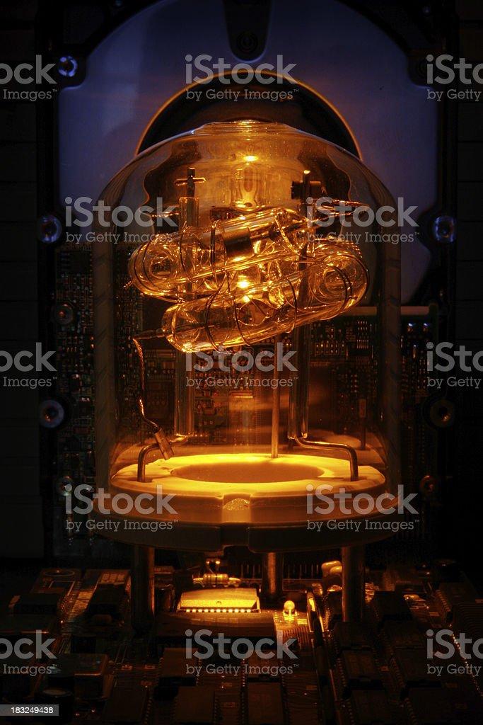 Warm, Glowing Tube royalty-free stock photo