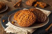 Warm Homemade Gingersnap Cookies