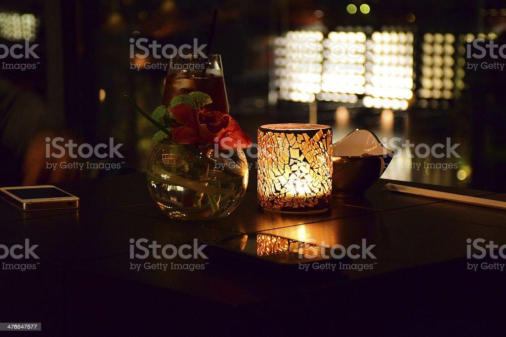 Warm light stock photo