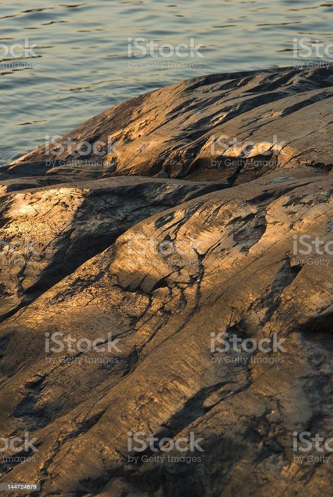 Cálida rock foto de stock libre de derechos