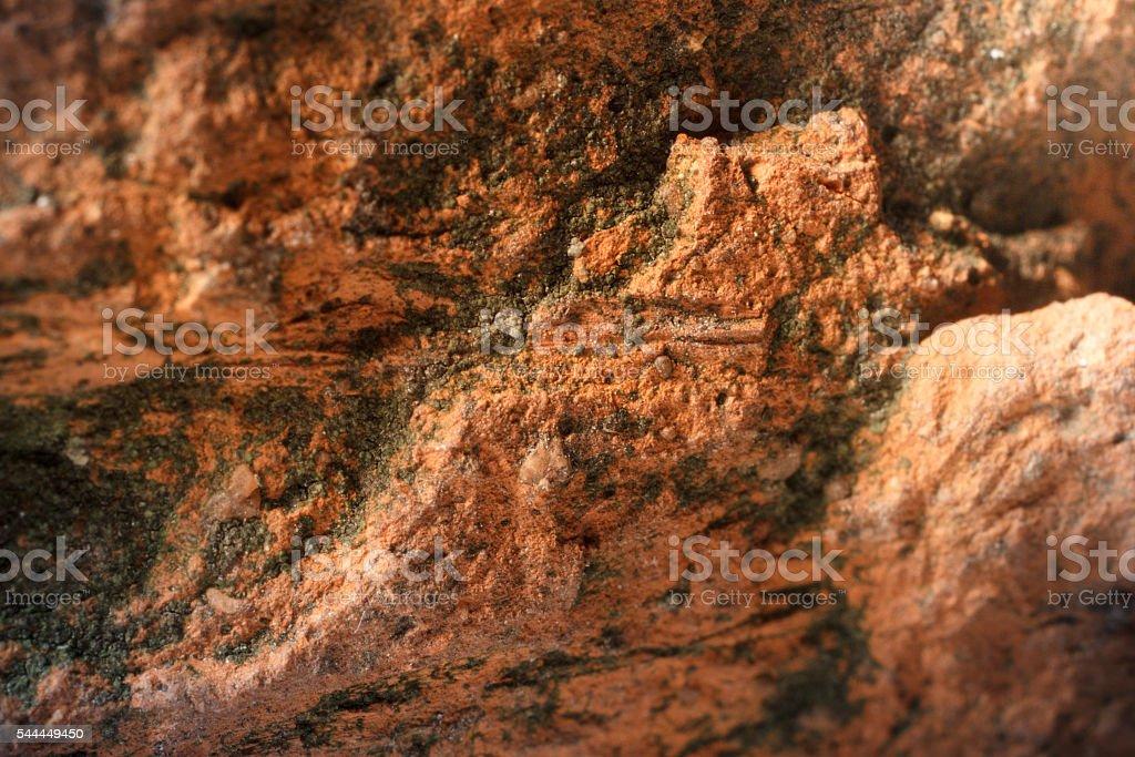 Warm stone scape stock photo
