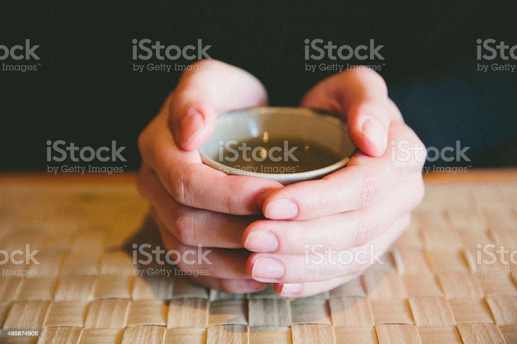 Warm Tea stock photo