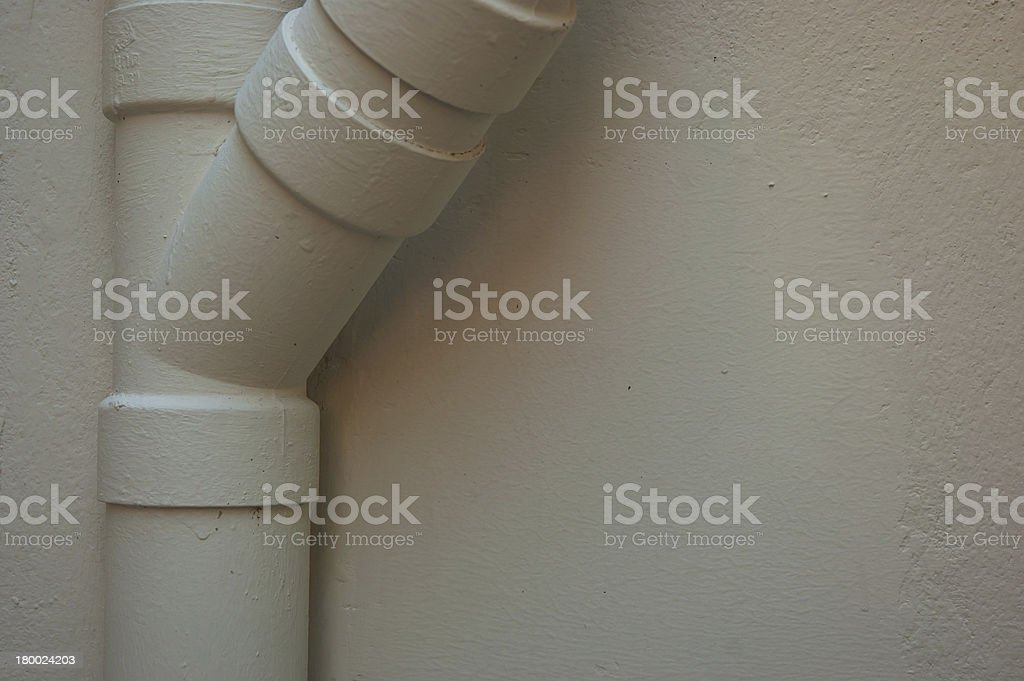 warm tone color water pipe royalty-free stock photo