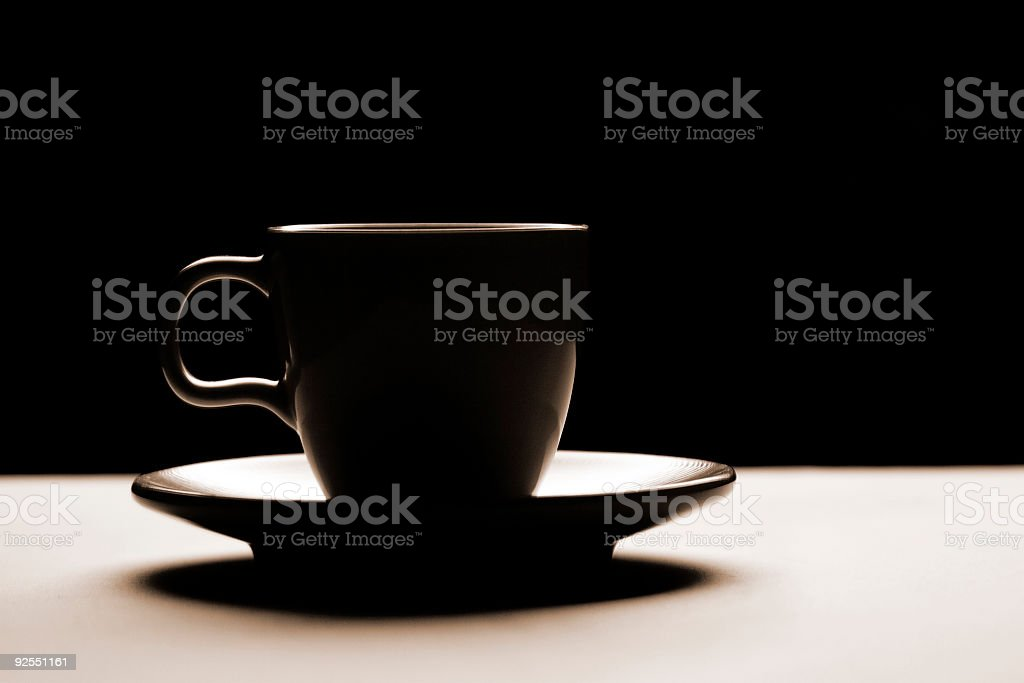 Warm Tone Cup royalty-free stock photo