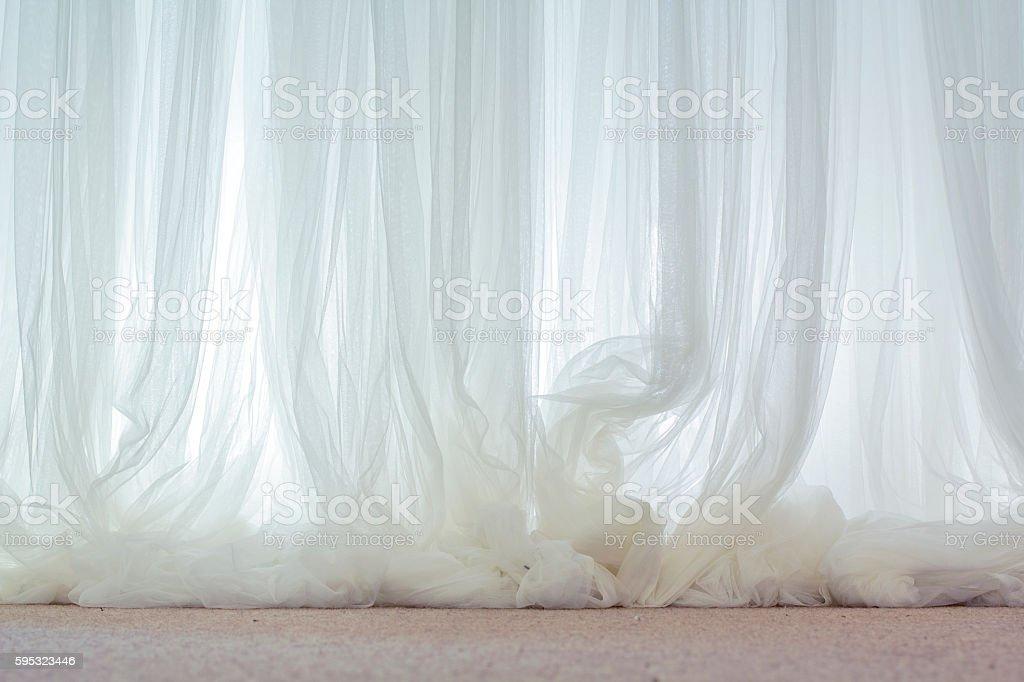warm transparent graceful fabric stock photo