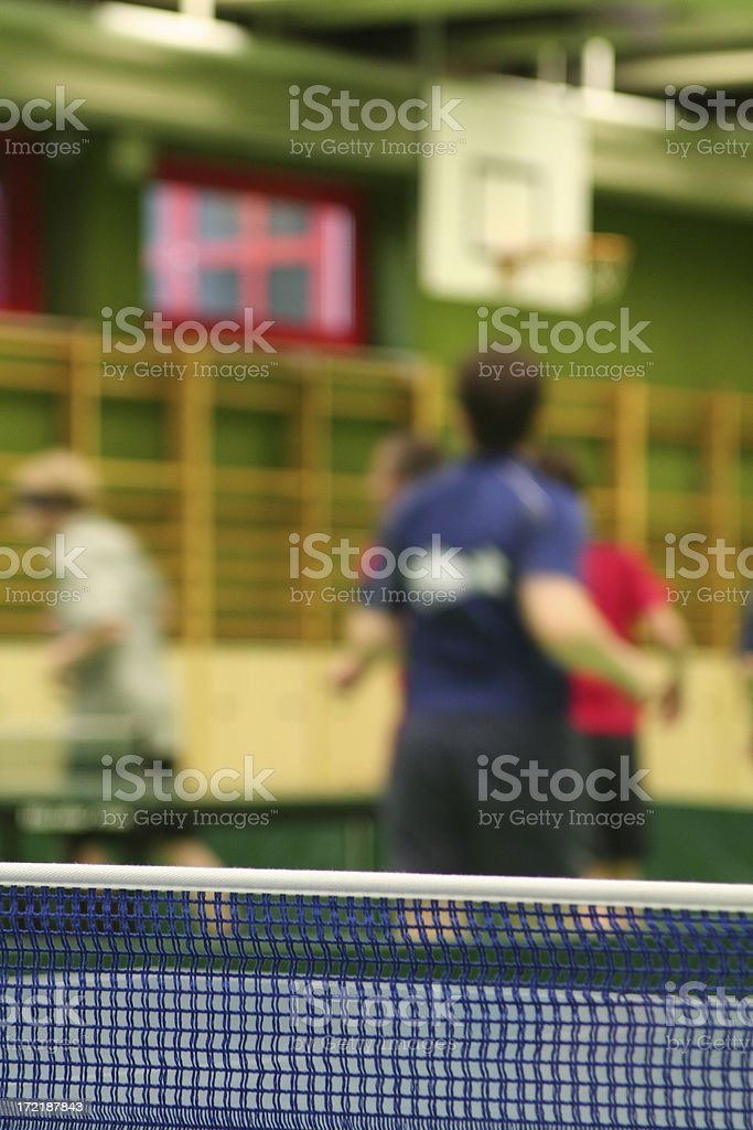 Warm up for the game royalty-free stock photo