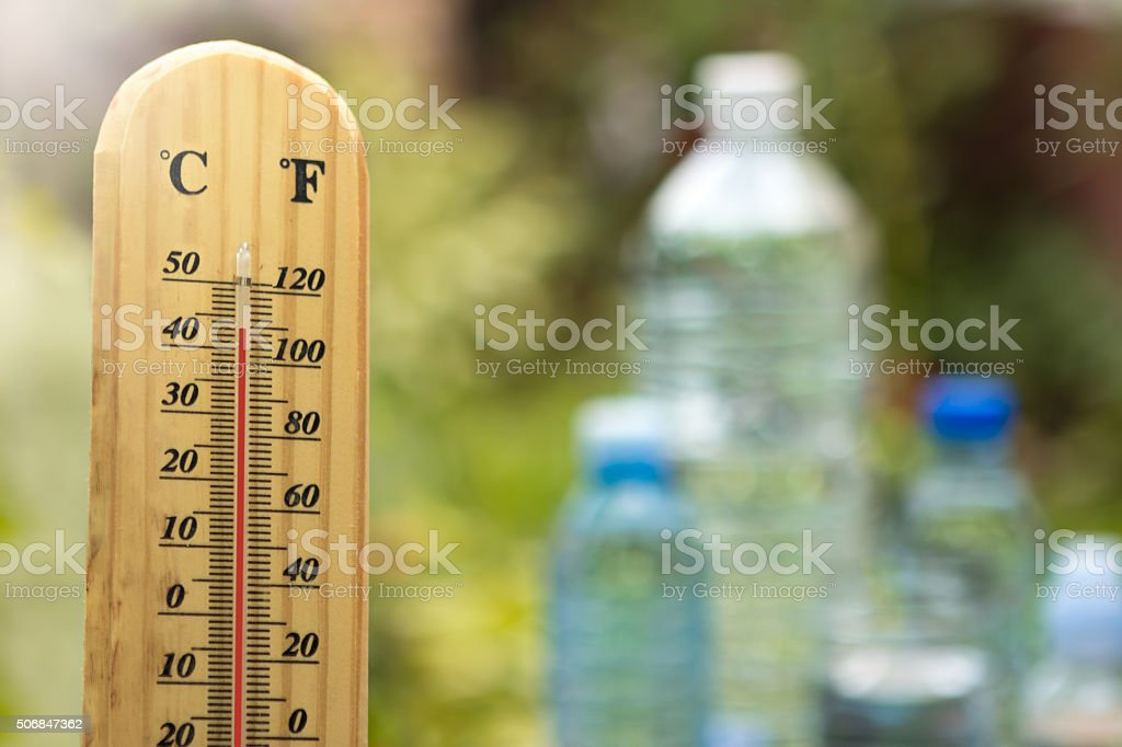 warm weather and water stock photo