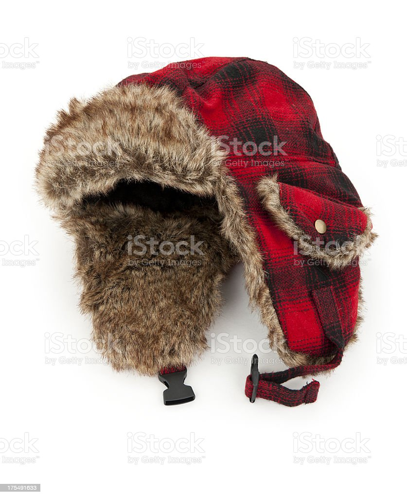 Warm Winter Hat stock photo
