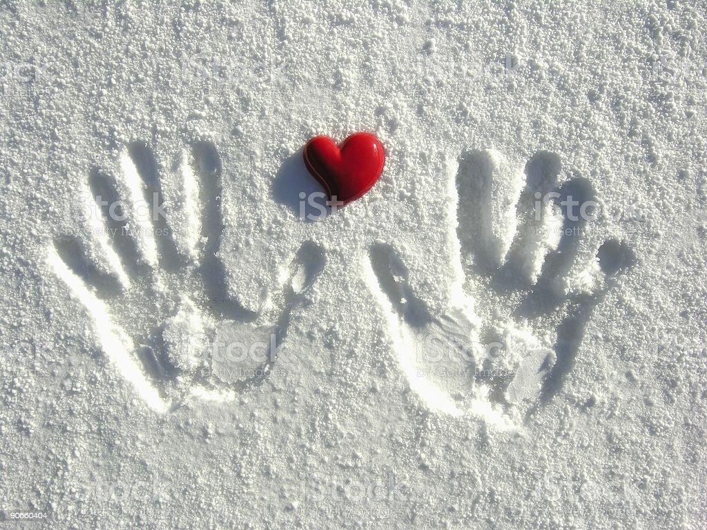 Warm-Heartedness royalty-free stock photo