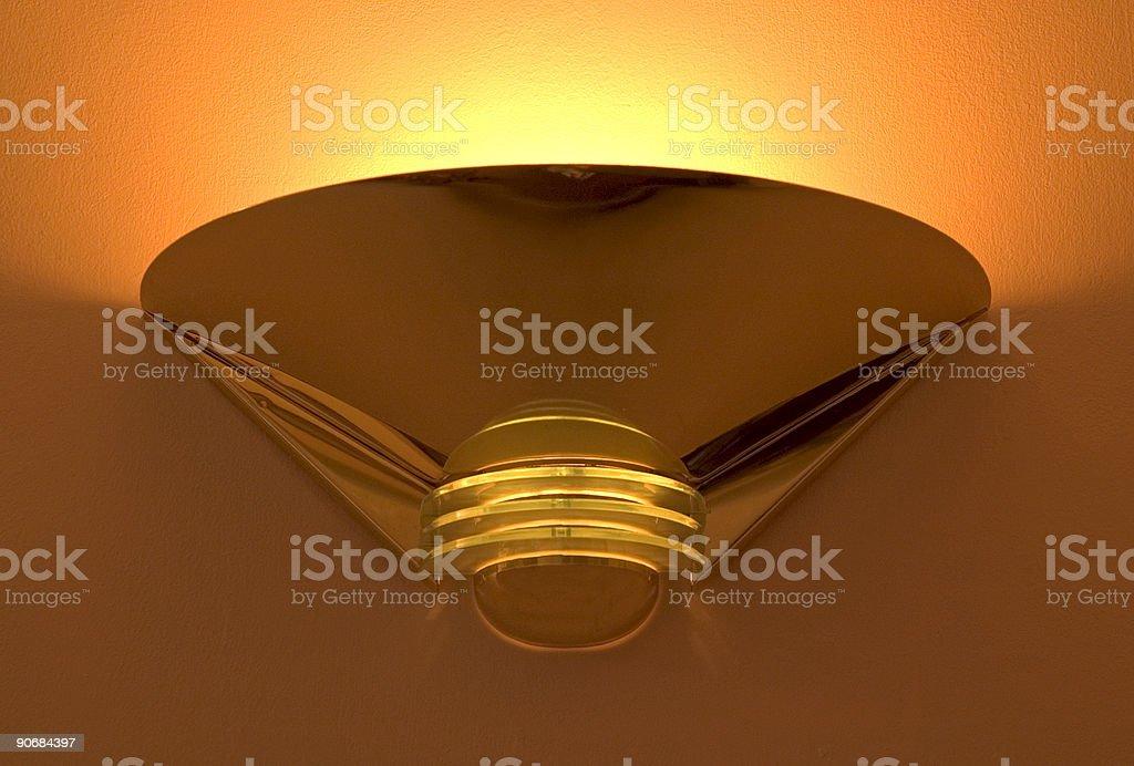 Warming glow royalty-free stock photo