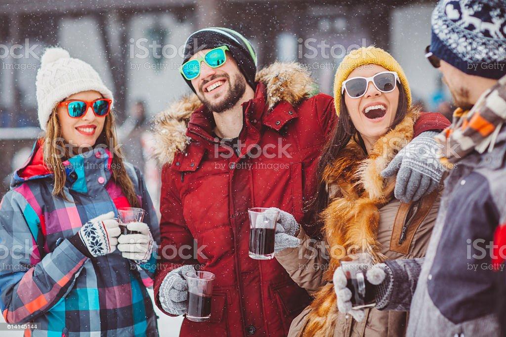 Warming up stock photo