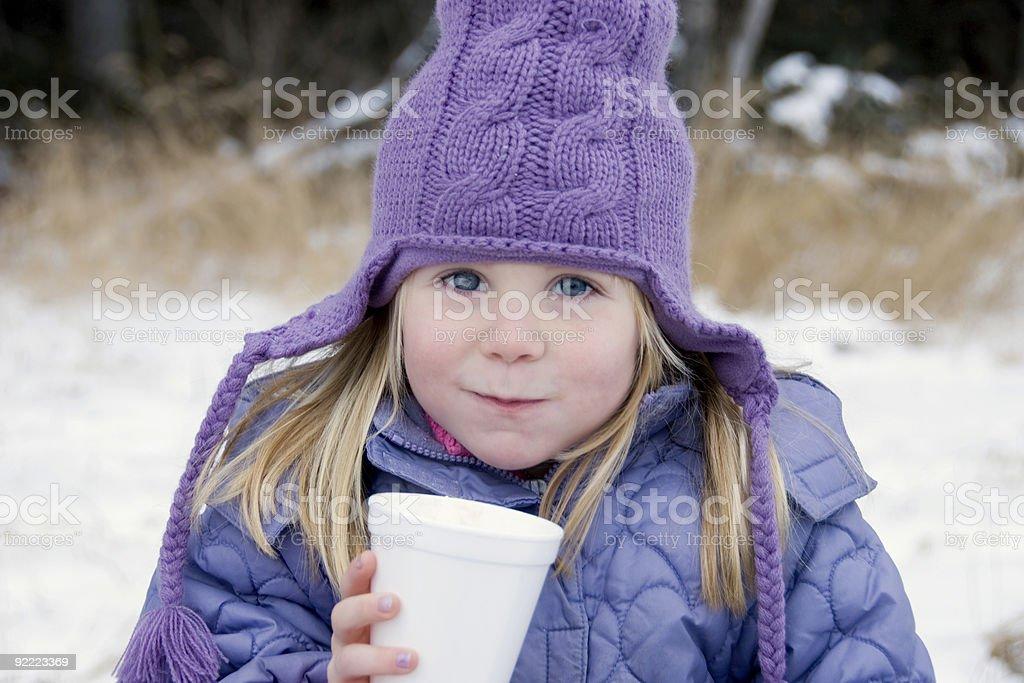 Warming Up royalty-free stock photo