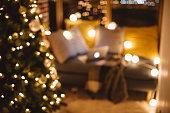 Warmth of Christmas home