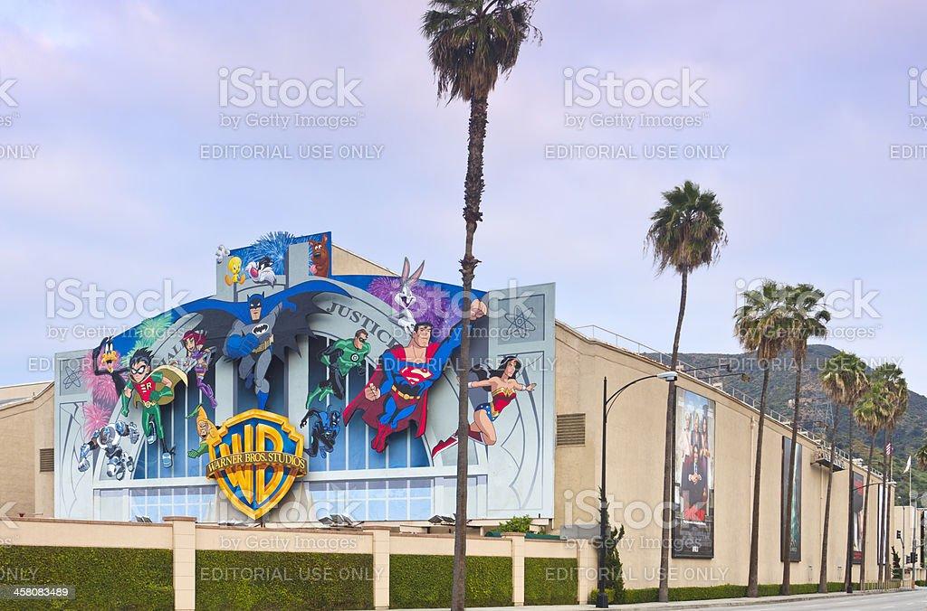 Warner Bros. Film Studio in Burbank, CA stock photo