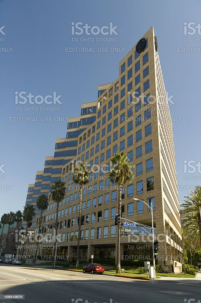 Warner Bros Headquarter stock photo