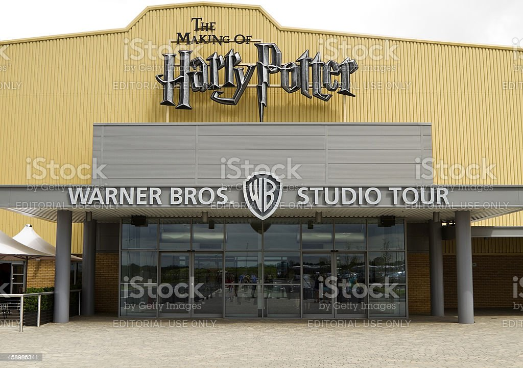 Warner Brothers Studio, the making of Harry Potter. stock photo