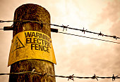 Warning - Electric Fence!