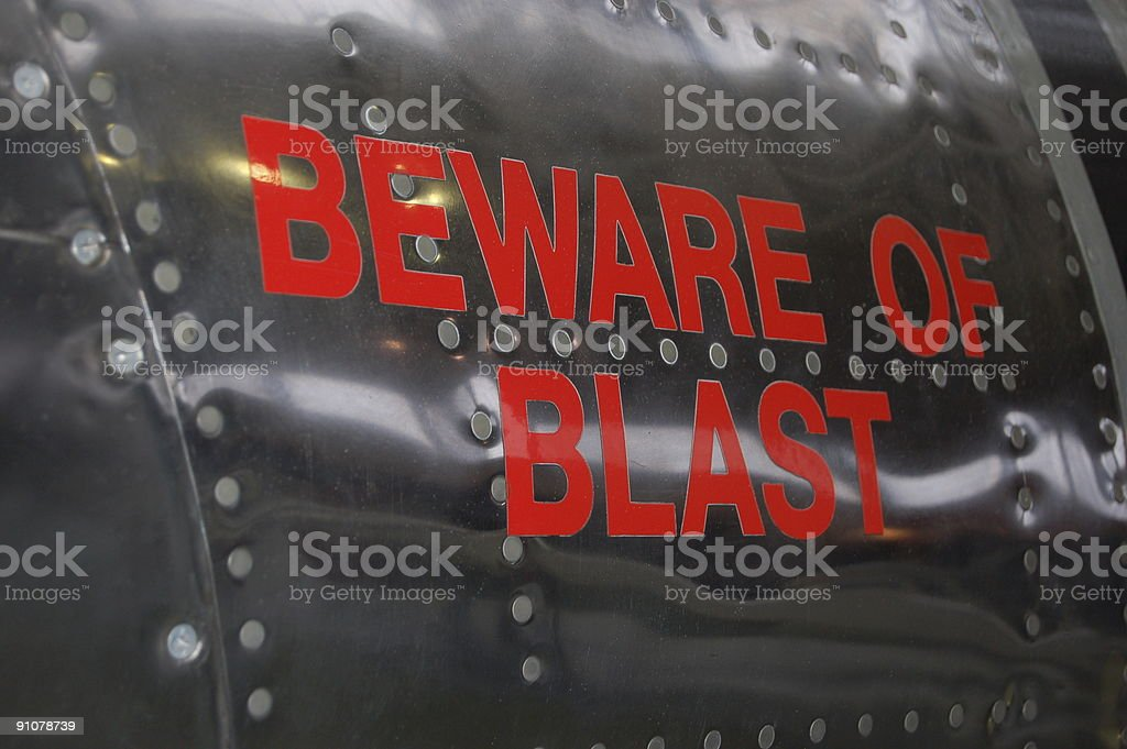 Warning . stock photo