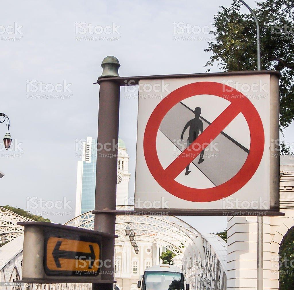 warning symbol stock photo