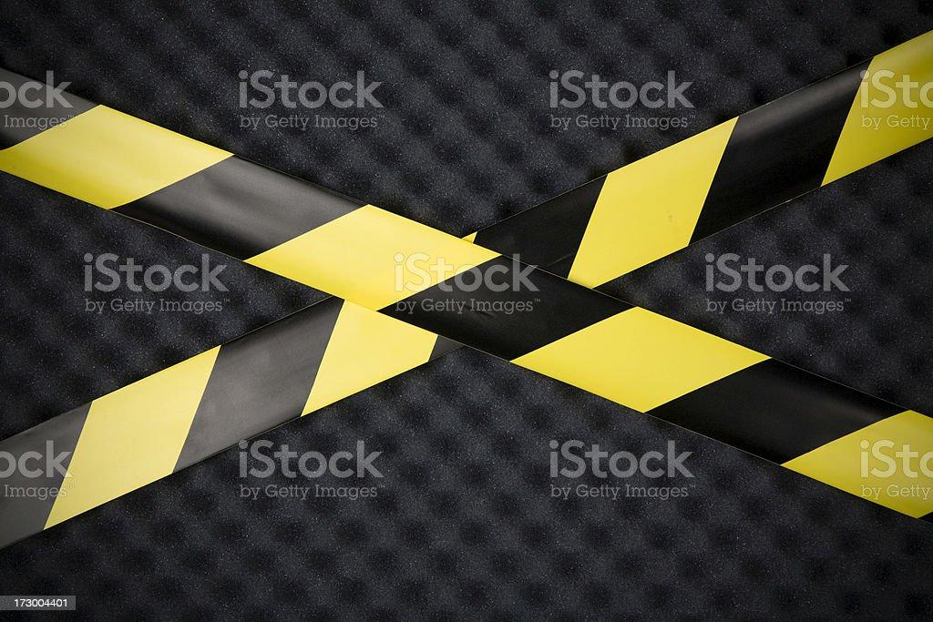 Warning texture royalty-free stock photo