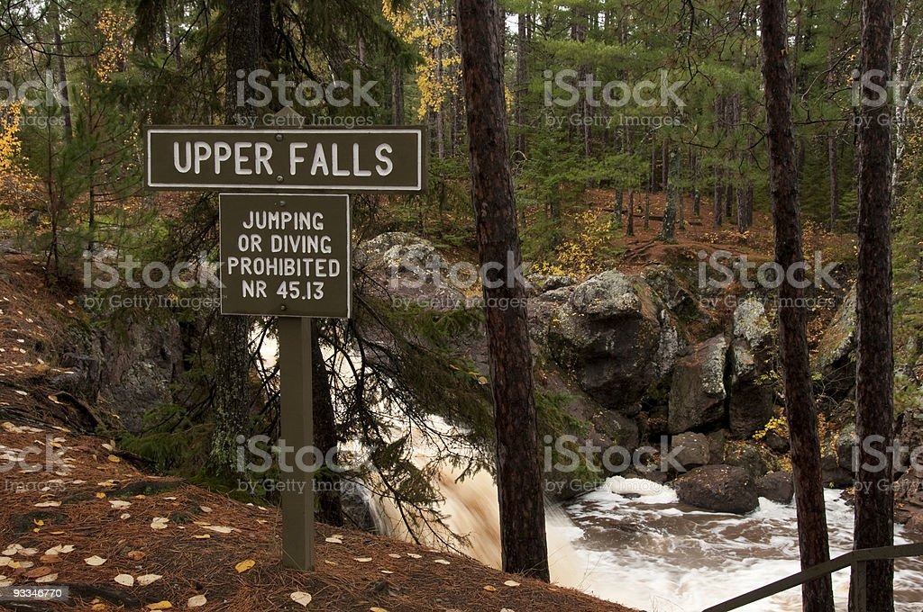 Warnings Are Important stock photo