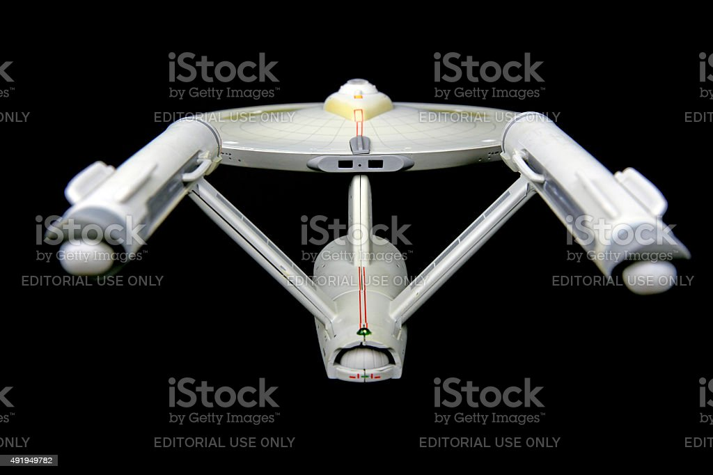 Warp Nacelles and Speed stock photo