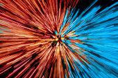 Warp Speed Abstract