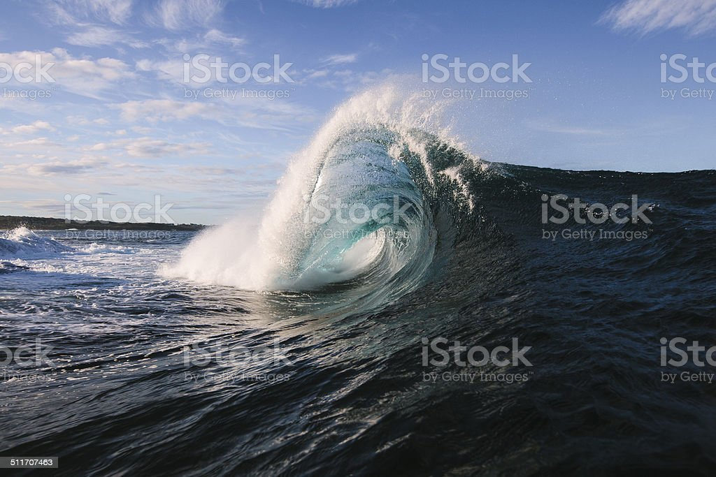 Warping Wave stock photo