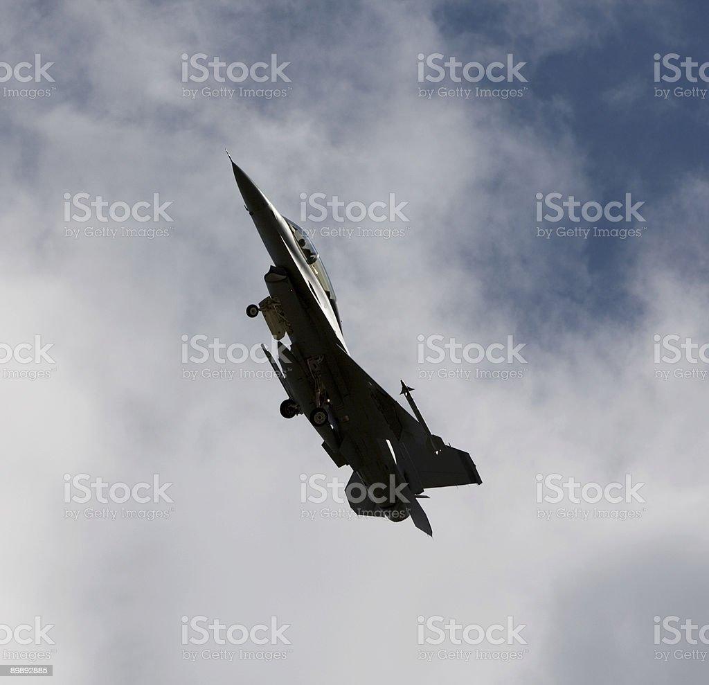 Warplane royalty-free stock photo