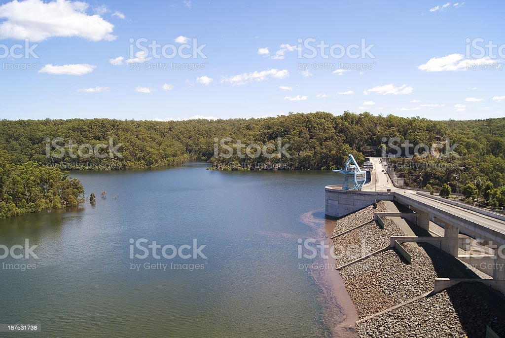 Warragamba Dam stock photo