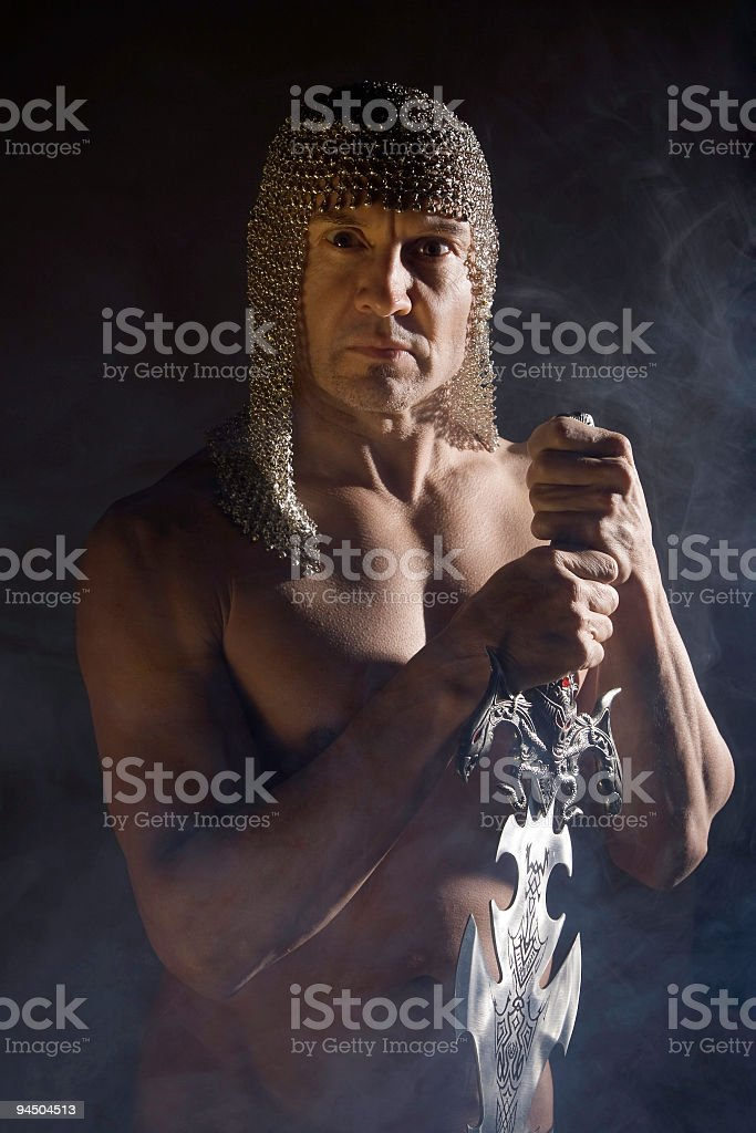 Warrior 2 royalty-free stock photo