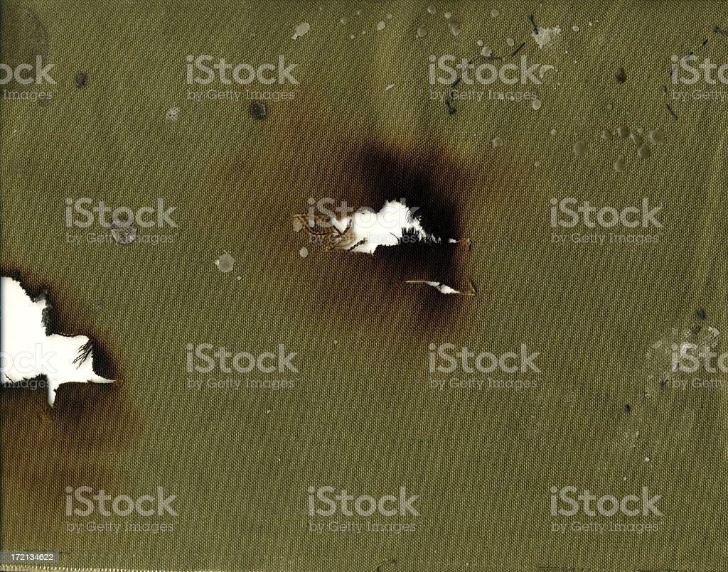 warrior canvas stock photo