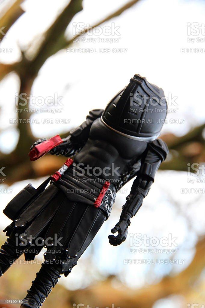Warrior Judoon stock photo