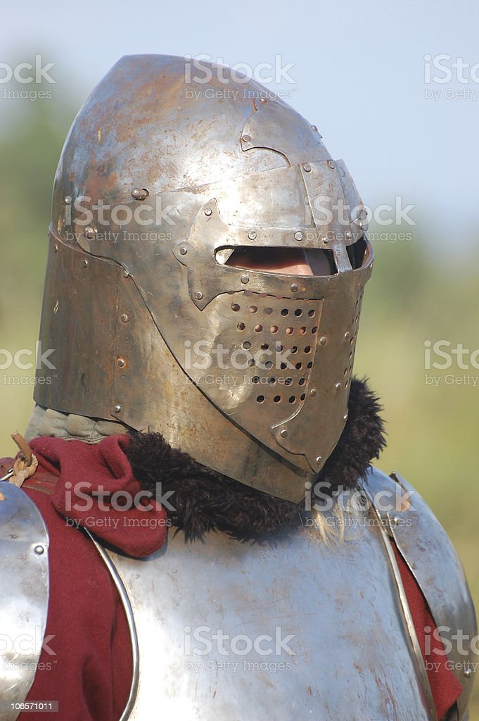 Warrior royalty-free stock photo