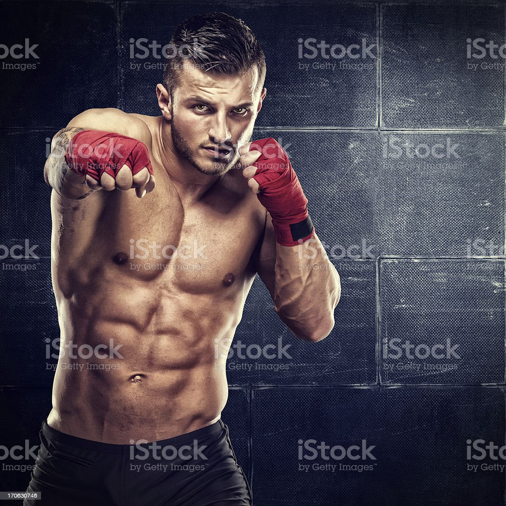 Warrior stock photo
