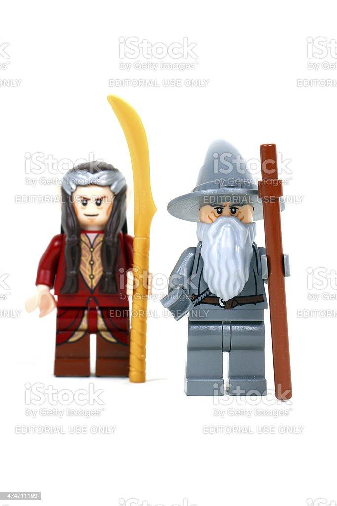 Warriors of Wisdom stock photo