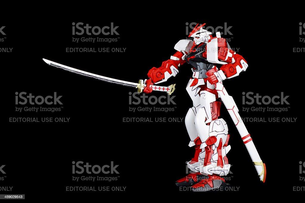Warriors Pose royalty-free stock photo