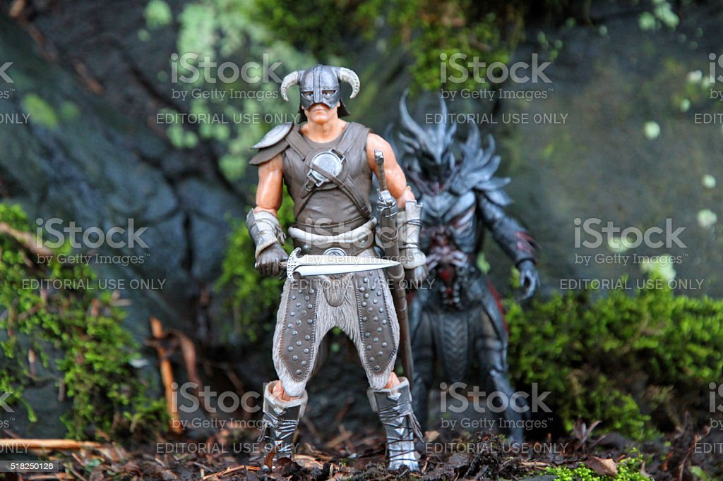 Warriors Together stock photo