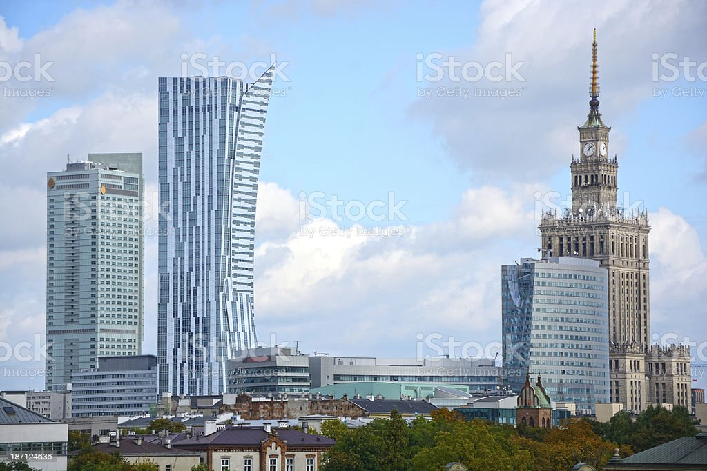 Warsaw royalty-free stock photo
