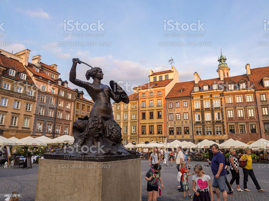 Warsaw stock photo