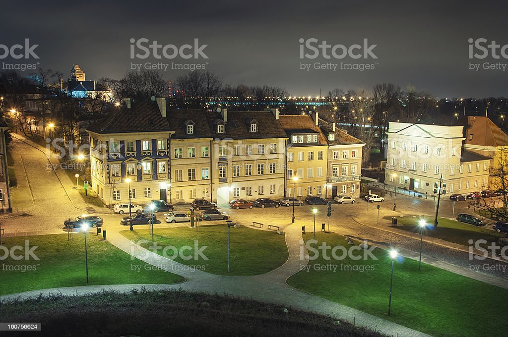 Warsaw, Poland royalty-free stock photo