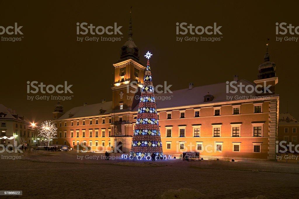 Warsaw Royal Palace stock photo