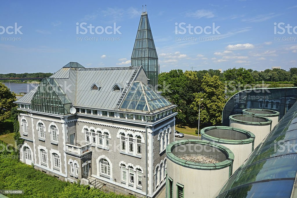 Warsaw University royalty-free stock photo